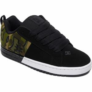 DC COURT GRAFFIK SQ černá 8.5 - Pánská volnočasová obuv