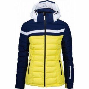 Vist ICE STORM DOWN SKI JACKET W žlutá S - Dámská zimní bunda