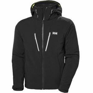 Helly Hansen LIGHTNING JACKET černá S - Pánská lyžařská/snowboardová bunda
