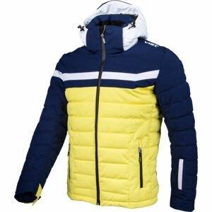 Vist ICE STORM DOWN SKI JACKET žlutá L - Pánská zimní bunda