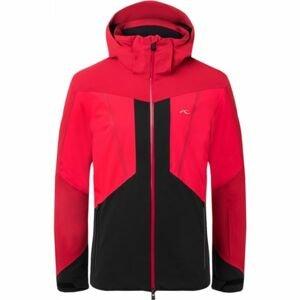 Kjus MEN BOVAL JACKET červená 48 - Pánská zimní bunda
