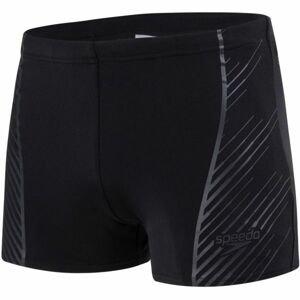 Speedo SPORT PANEL AQUASHORT černá 5 - Pánské plavky