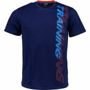 Kensis KENNY tmavě modrá XL - Pánské triko