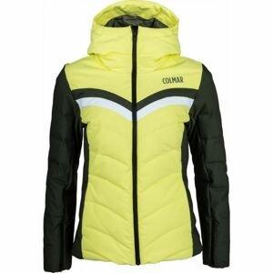 Colmar L. DOWN SKI JACKET žlutá 34 - Dámská lyžařská bunda