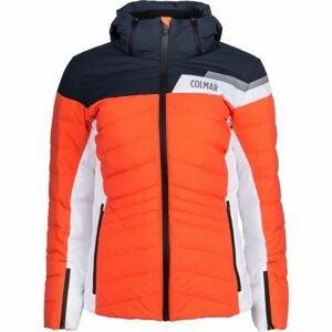 Colmar L. DOWN SKI JACKET oranžová 36 - Dámská lyžařská bunda