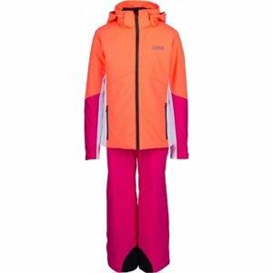 Colmar JR.GIRL 2-PC-SUIT růžová 16 - Dívčí lyžařský set