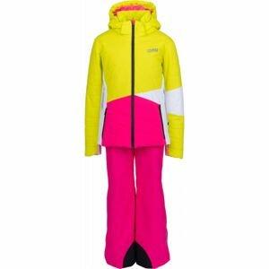 Colmar JR GIRL 2-PC-SUIT růžová 14 - Dívčí lyžařský set