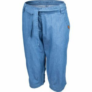 Willard CARI modrá 38 - Dámské plátěné 3/4 kalhoty