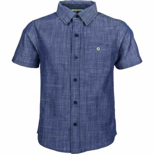 Lewro MELVIN modrá 116-122 - Chlapecká košile