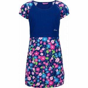 Lewro LASSI tmavě modrá 140-146 - Dívčí šaty