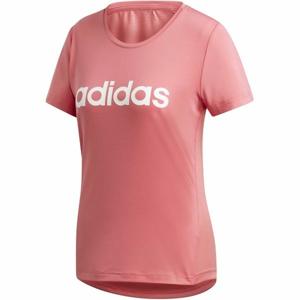 adidas W D2M LO TEE růžová XS - Dámské tričko