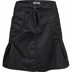 Willard TEMMY černá 44 - Dámská plátěná sukně