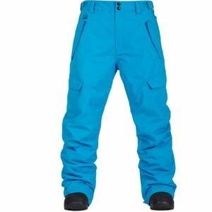 Horsefeathers BARS PANTS modrá M - Pánské lyžařské/snowboardové kalhoty
