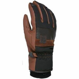 Level JOKER černá XL - Kožené lyžařské rukavice
