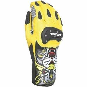 Level RACE SPEED žlutá 9 - Závodní lyžařské rukavice
