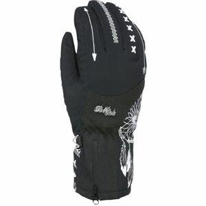 Level BLISS EMERALD GORE černá 7 - Dámské lyžařské rukavice