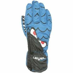 Level LUCKY modrá 4 - Voděodolné celozateplené rukavice
