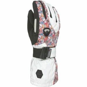 Level BUTTERFLY W bílá 8.5 - Dámské snowboardové rukavice