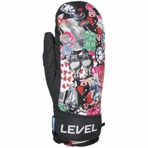 Level JUKE JR MITT černá 6 - Dětské lyžařské rukavice