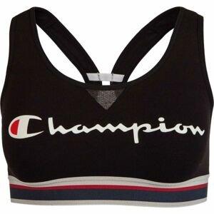 Champion CROP TOP AUTHENTIC černá XL - Dámská sportovní podprsenka