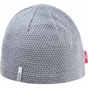 Kama AW62-109 MERINO ČEPICE šedá UNI - Pánská pletená čepice