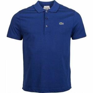Lacoste MEN S S/S POLO tmavě modrá M - Pánské polo tričko