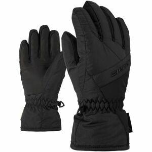 Ziener LINARD GTX JUNIOR černá 7 - Dětské rukavice