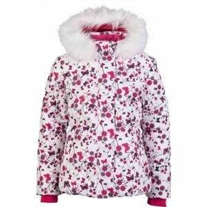 Lewro PARIS bílá 116-122 - Dívčí zimní bunda