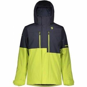 Scott ULTIMATE DRYO 10 JACKET zelená M - Pánská lyžařská bunda