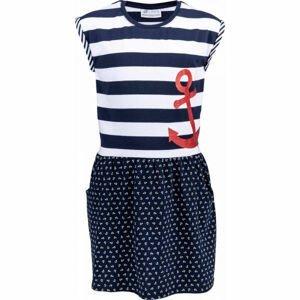 Lotto MOORIAN modrá 140-146 - Dívčí šaty