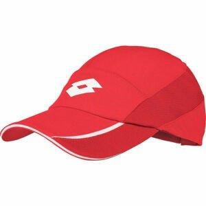 Lotto TENNIS CAP červená UNI - Dámská sportovní kšiltovka