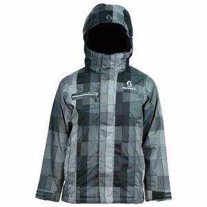 Scott FLURRY B šedá XL - Chlapecká lyžařská bunda