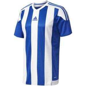 adidas STRIPED 15 JSY JR modrá 164 - Chlapecký fotbalový dres
