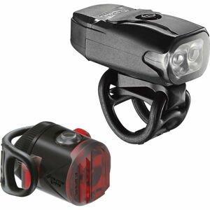 Lezyne KTV DRIVE / FEMTO USB PAIR černá NS - Sada světel na kolo