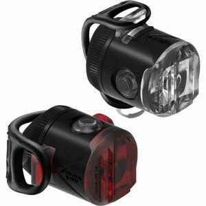 Lezyne FEMTO USB DRIVE černá NS - Sada světel na kolo