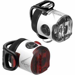 Lezyne FEMTO USB DRIVE bílá NS - Sada světel na kolo