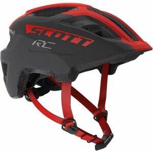 Scott SPUNTO JR červená (50 - 56) - Dětská helma na kolo