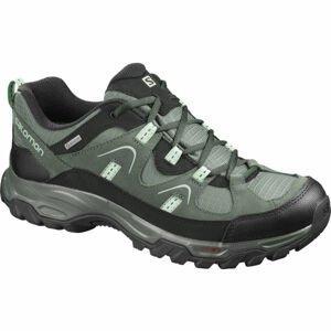 Salomon FORTALEZA GTX šedá 9.5 - Pánská outdoorová obuv