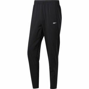 Reebok WORKOUT WOVEN TRACKSTER PANT černá L - Pánské kalhoty