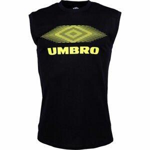 Umbro MOIRE GRAPHIC VEST černá XL - Pánské triko