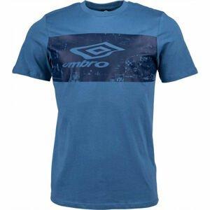 Umbro FANS TEE tmavě modrá L - Pánské triko