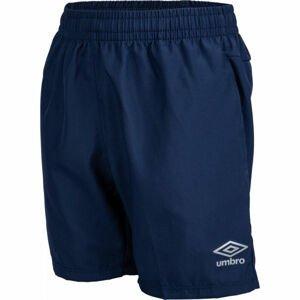 Umbro TRAINING WOVEN SHORT tmavě modrá L - Chlapecké sportovní šortky