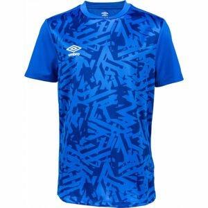 Umbro SHATTERED JERSEY modrá XL - Chlapecké sportovní triko