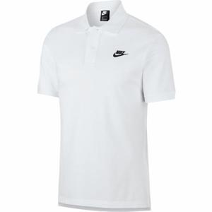 Nike NSW CE POLO MATCHUP PQ M bílá L - Pánské polotričko
