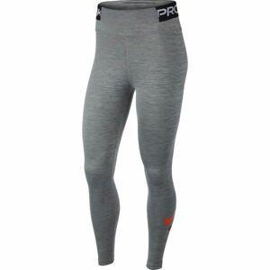 Nike ONE TGHT ICNCLSH W šedá S - Dámské legíny