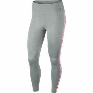 Nike ONE TGHT CROP NOVELTY W šedá M - Dámské legíny