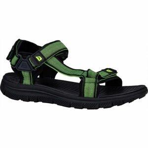 ALPINE PRO NATOL černá 43 - Pánské sandály