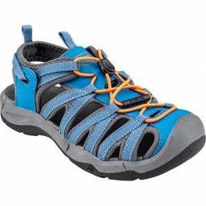 ALPINE PRO MERTO modrá 36 - Dětská letní obuv