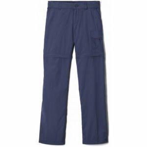 Columbia SILVER RIDGE IV CONVERTIBLE PANT tmavě modrá XS - Dětské outdoorové odepínatelné kalhoty