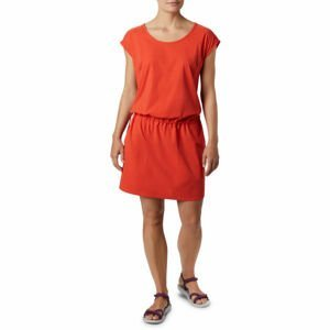 Columbia PEAK TO POINT II DRESS červená L - Dámské sportovní šaty
